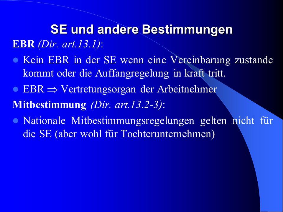Opting out: Versmelzung Die Mitgliedstaaten können vorsehen, dass die Auffangregelung in Teil 3 des Anhangs in dem in Absatz 2 Buchstabe b vorgesehene