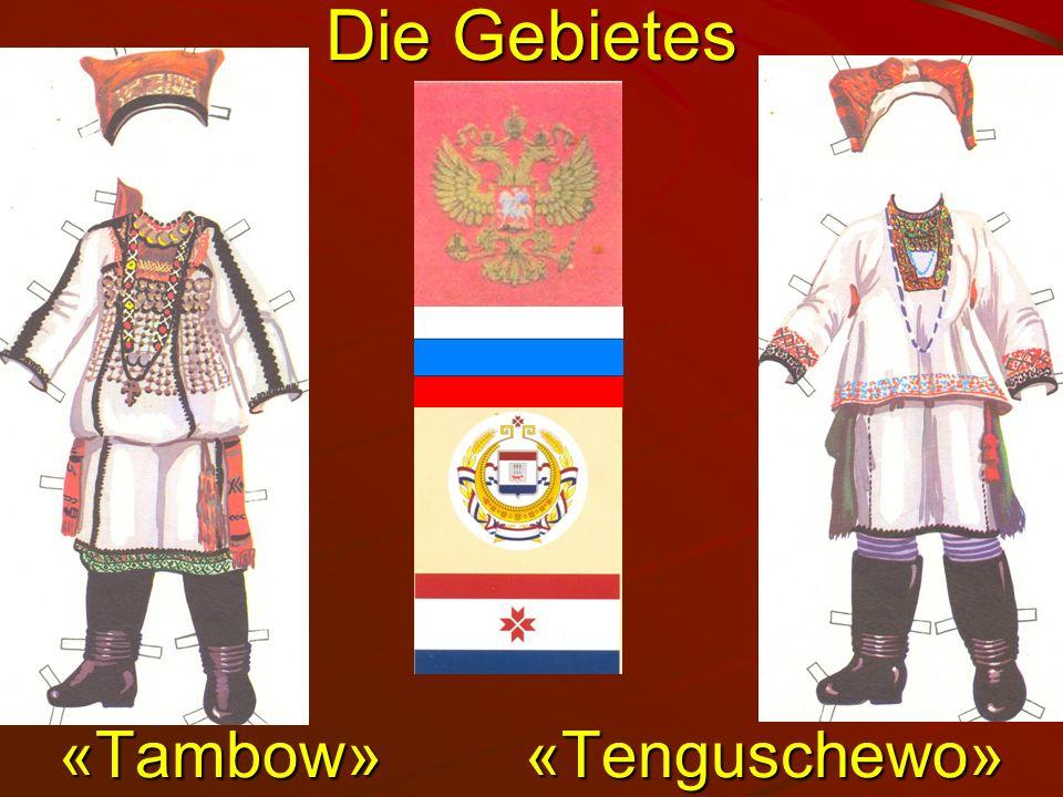 Die Gebietes «Torbeewо» «Torbeewо» «Temnikow»