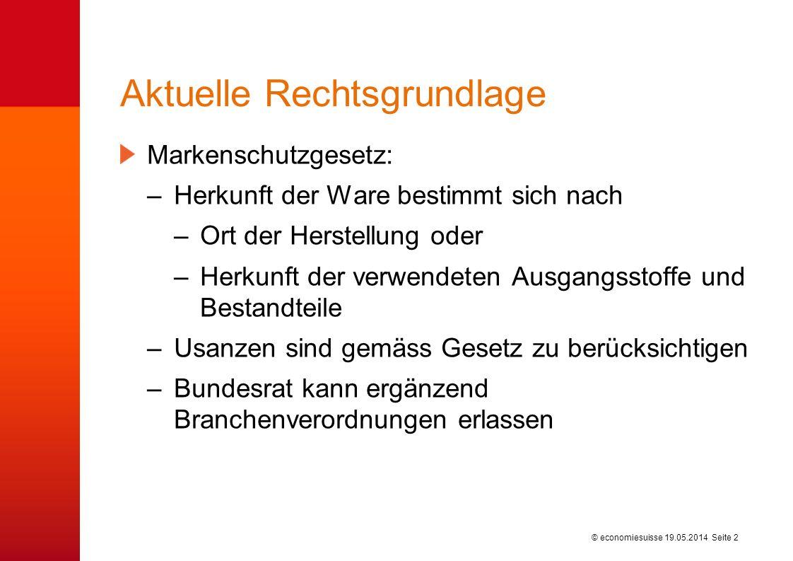 © economiesuisse Urteil des Handelsgerichts St.