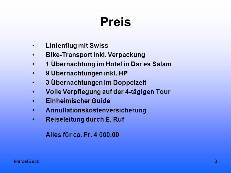 Marcel Beck3 Preis Linienflug mit Swiss Bike-Transport inkl.