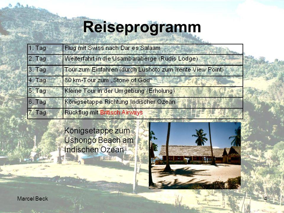 Marcel Beck4 Reiseprogramm Königsetappe zum Ushongo Beach am Indischen Ozean