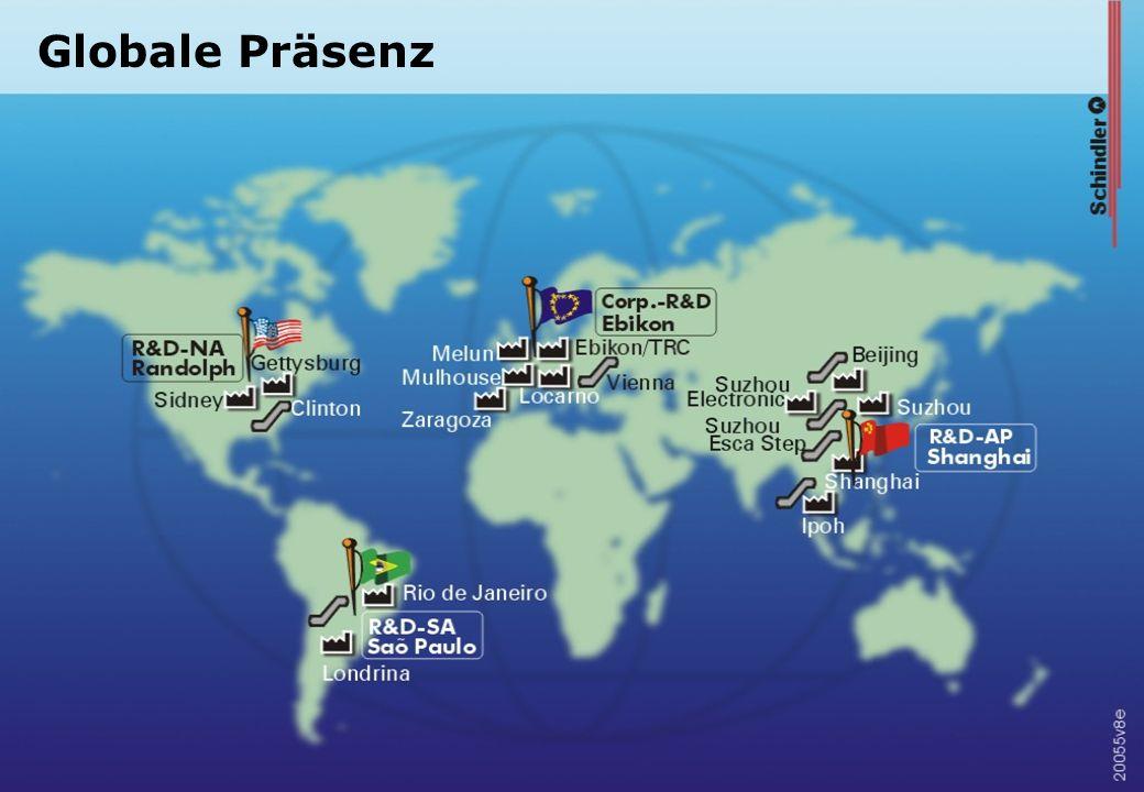 Globale Präsenz