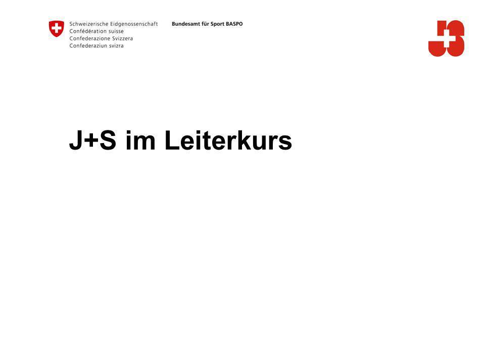 J+S im Leiterkurs