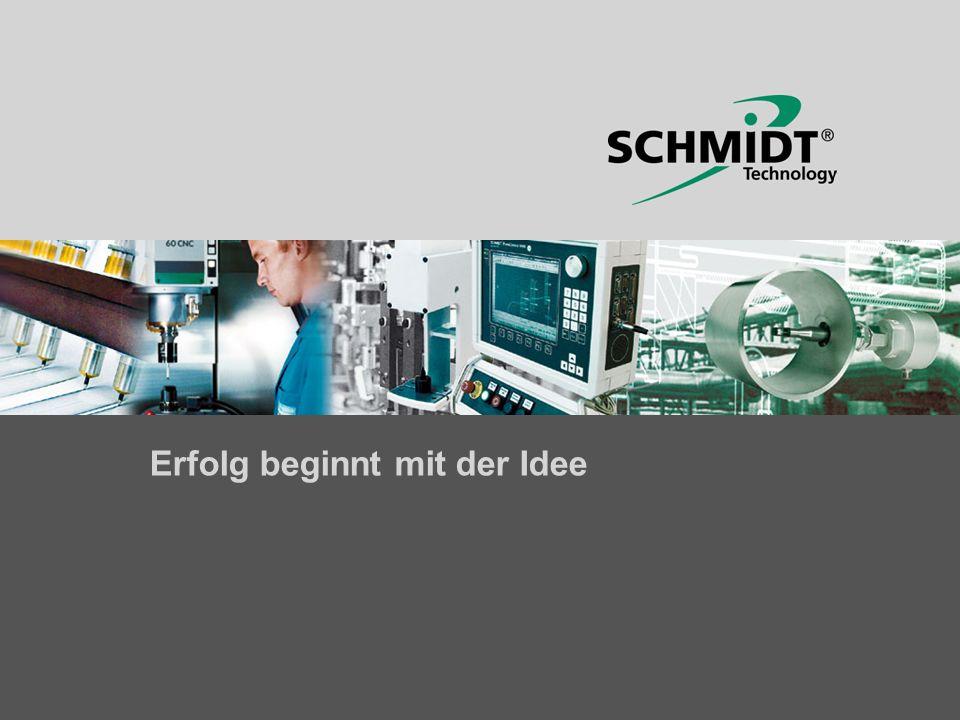© SCHMIDT Technology · www.schmidttechnology.com Entwicklungsschwerpunkte 2004 Vertriebstagung Industriesensoren Ort:St.