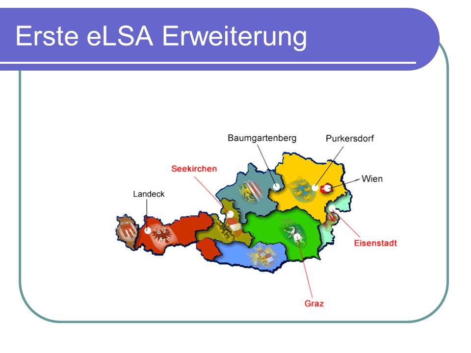 Erste eLSA Erweiterung