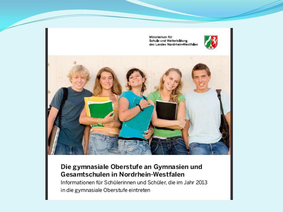 Der Besuch der gymnasialen Oberstufe kann durch einen Auslandsaufenthalt unterbrochen werden.