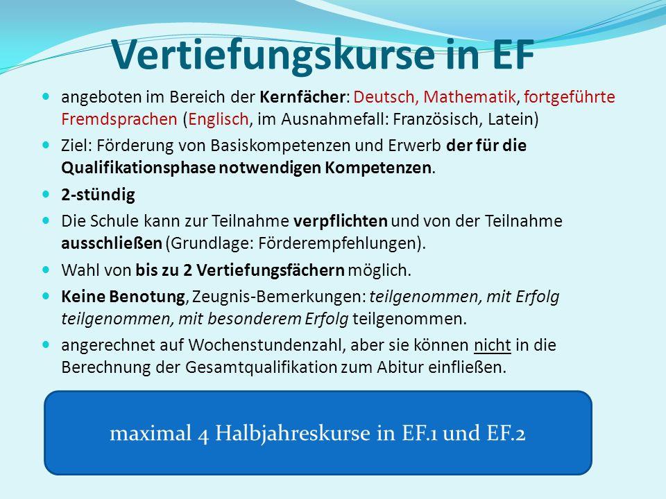Aufgabenfeld IAufgabenfeld IIAufgabenfeld IIIohne Aufgabenf. 1. Deutsch 4. a) – e) mindest. ein Fach a) Geschichte b) Sozialwissens. c) Erdkunde d) Pä