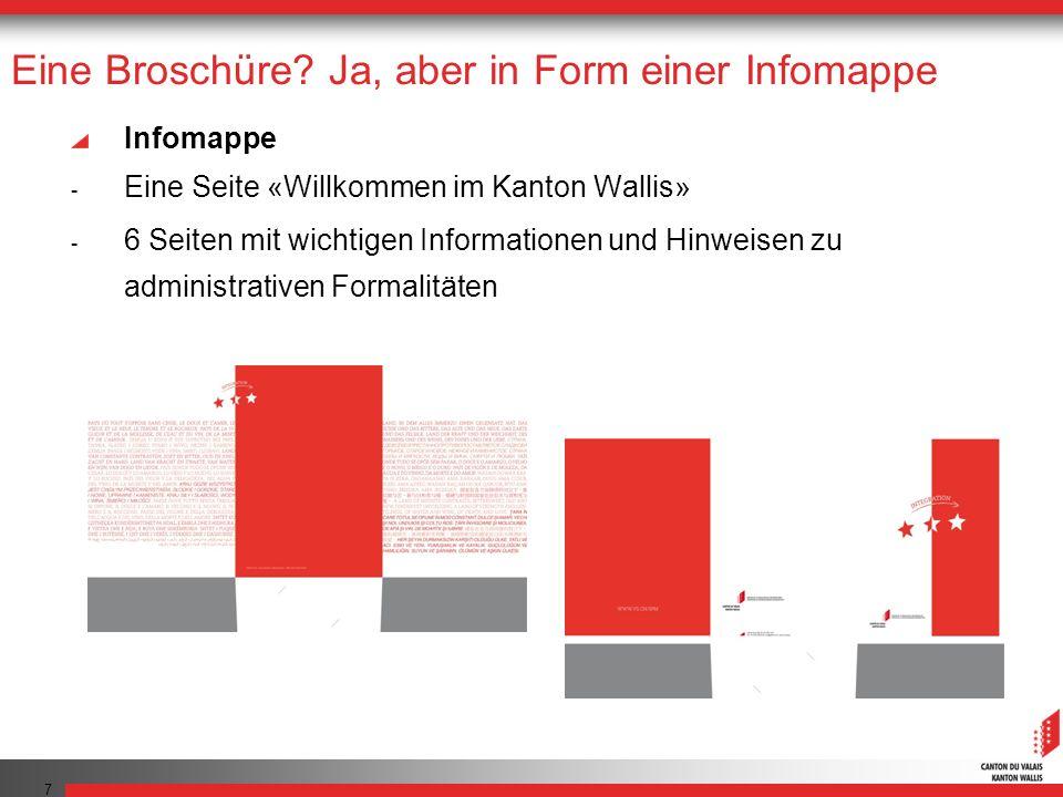 Website: www.vs.ch/integration Die Website nimmt die Themen der Infomappe wieder auf und bietet ergänzende Informationen an Momentan steht diese in 8 Sprachen zur Verfügung 8