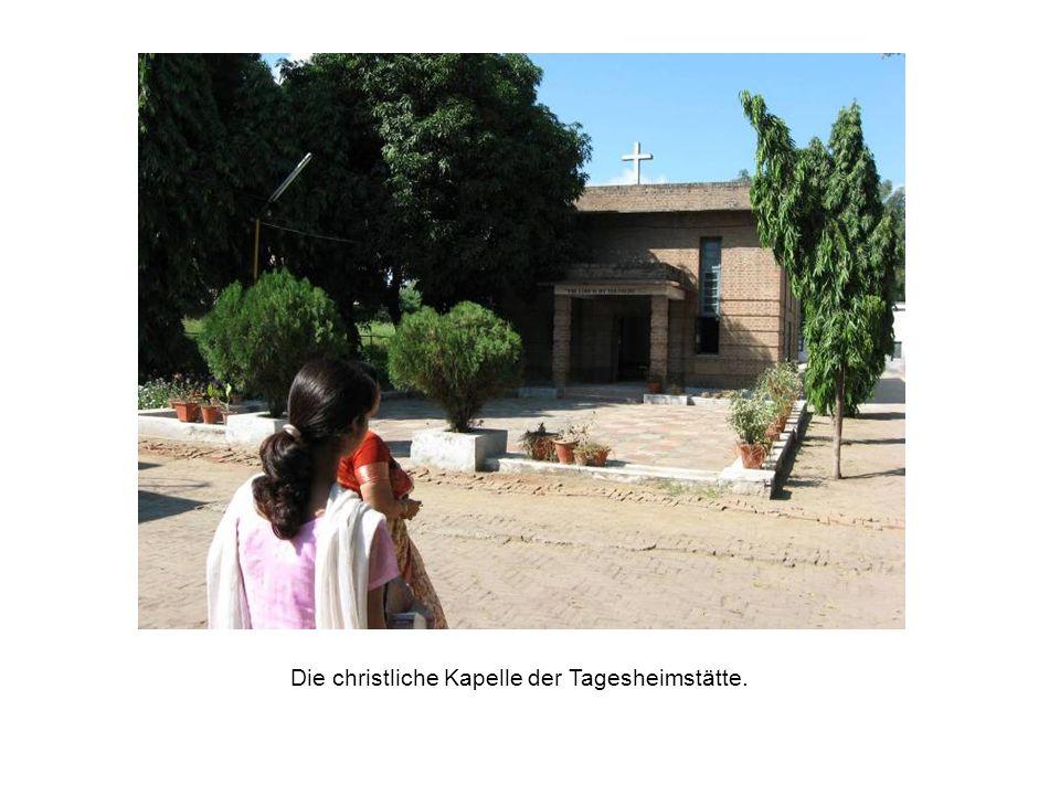 Die christliche Kapelle der Tagesheimstätte.