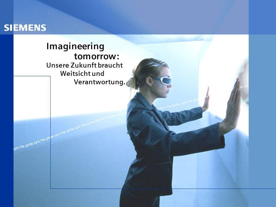 s Imagineering tomorrow: Unsere Zukunft braucht Weitsicht und Verantwortung.