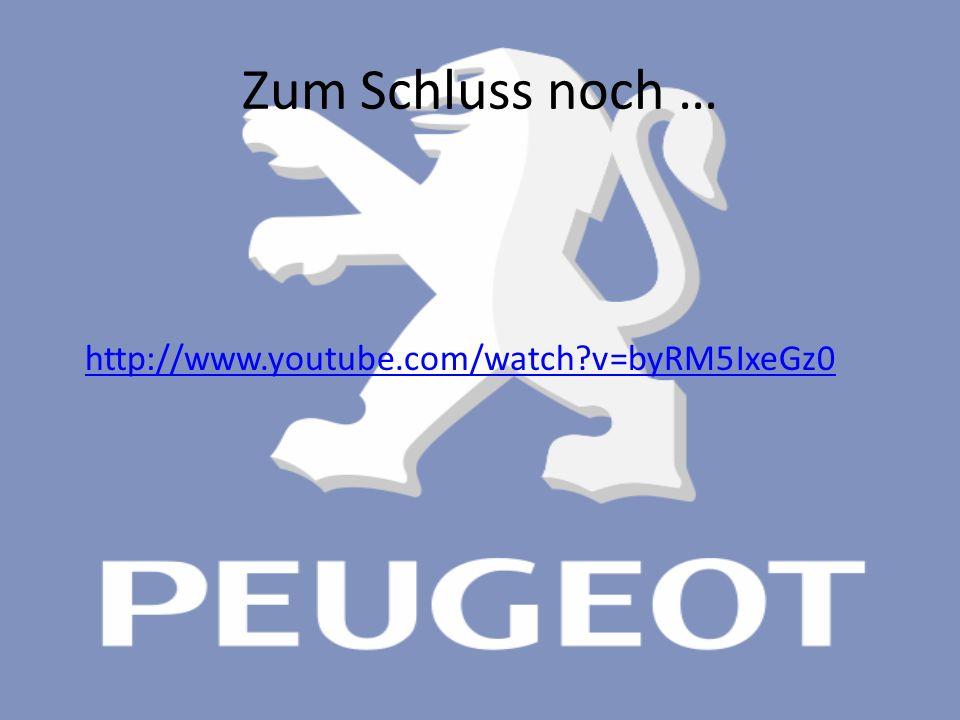 Zum Schluss noch … http://www.youtube.com/watch?v=byRM5IxeGz0