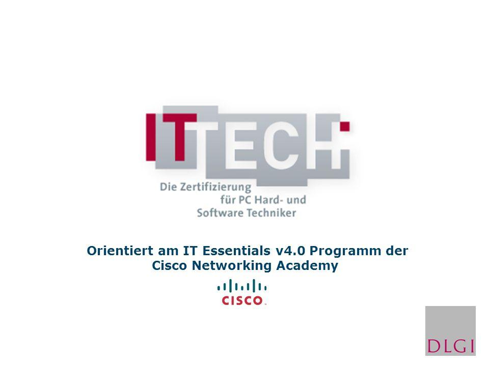 Eigenschaften der Onlinetests zum IT TECH: 52 Fragen pro Test Testdauer: 60 min Bestanden bei 75% Demotest: http://ittech.dlgi-admin.de/http://ittech.dlgi-admin.de/