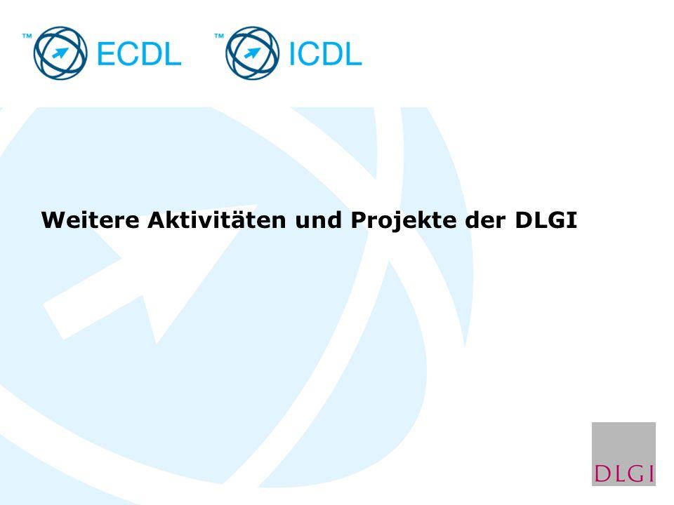 Weitere Aktivitäten und Projekte der DLGI