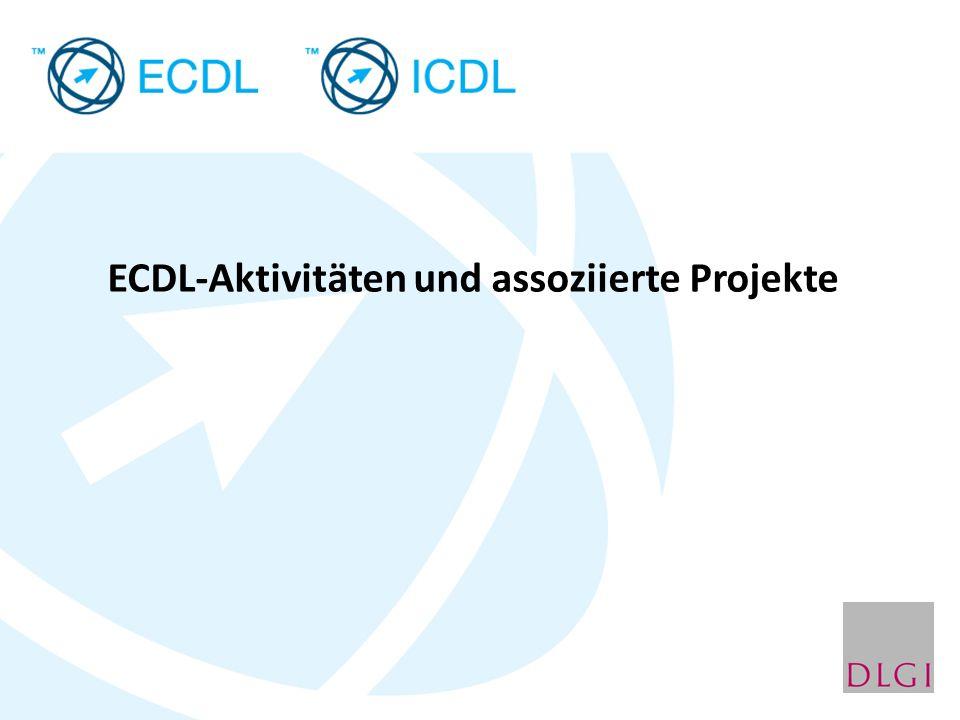 ECDL-Aktivitäten und assoziierte Projekte