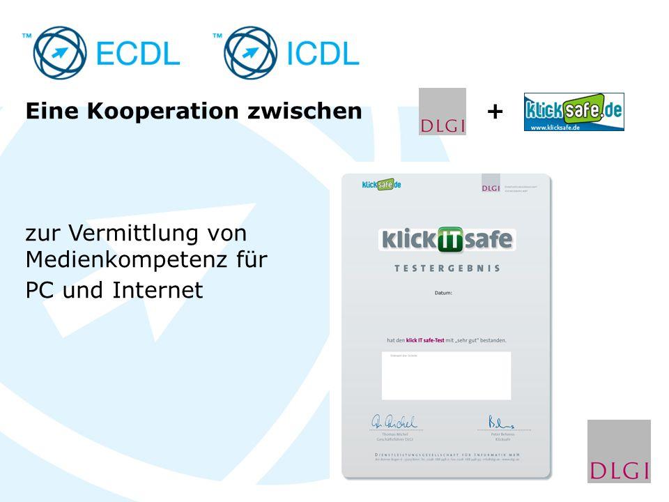 Eine Kooperation zwischen + zur Vermittlung von Medienkompetenz für PC und Internet