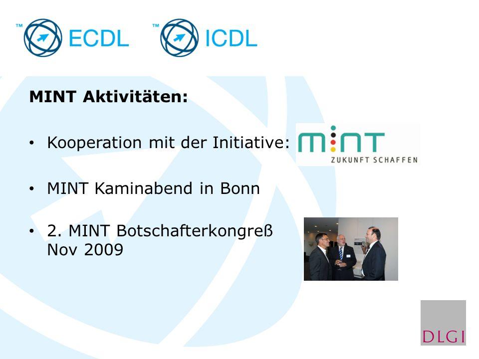 MINT Aktivitäten: Kooperation mit der Initiative: MINT Kaminabend in Bonn 2.