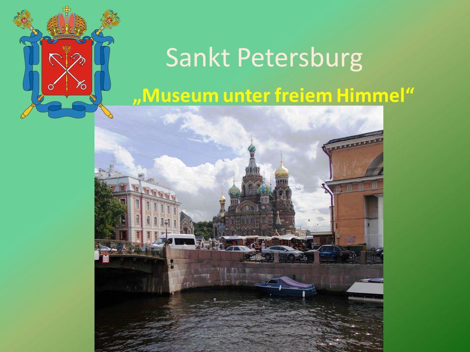 Sankt Petersburg Museum unter freiem Himmel