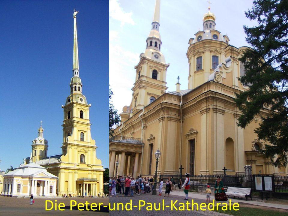 Die Peter-und-Paul-Kathedrale