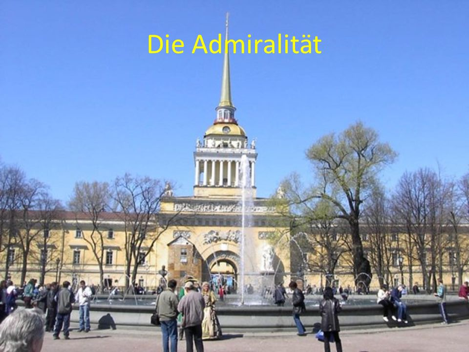 Die Admiralität