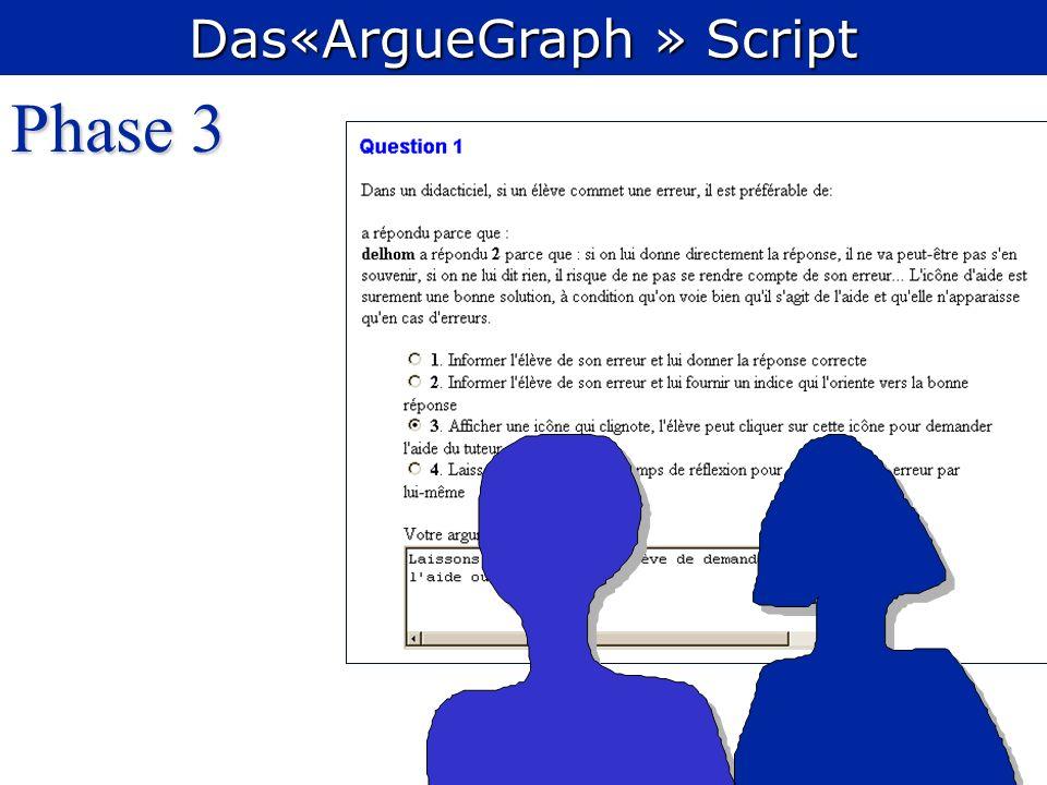 Phase 3 Das«ArgueGraph » Script
