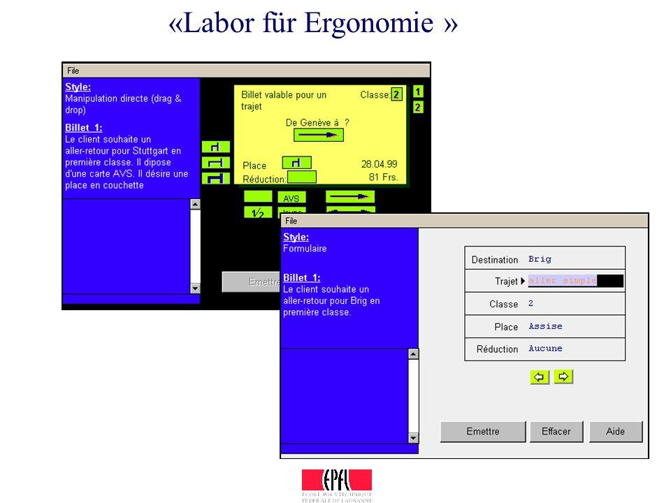 «Labor für Ergonomie »