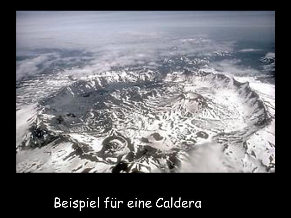 Beispiel für eine Caldera