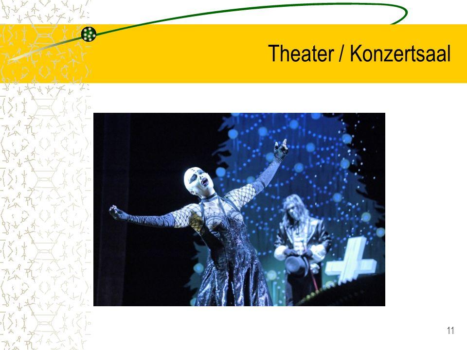 11 Theater / Konzertsaal