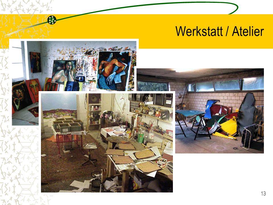 13 Werkstatt / Atelier