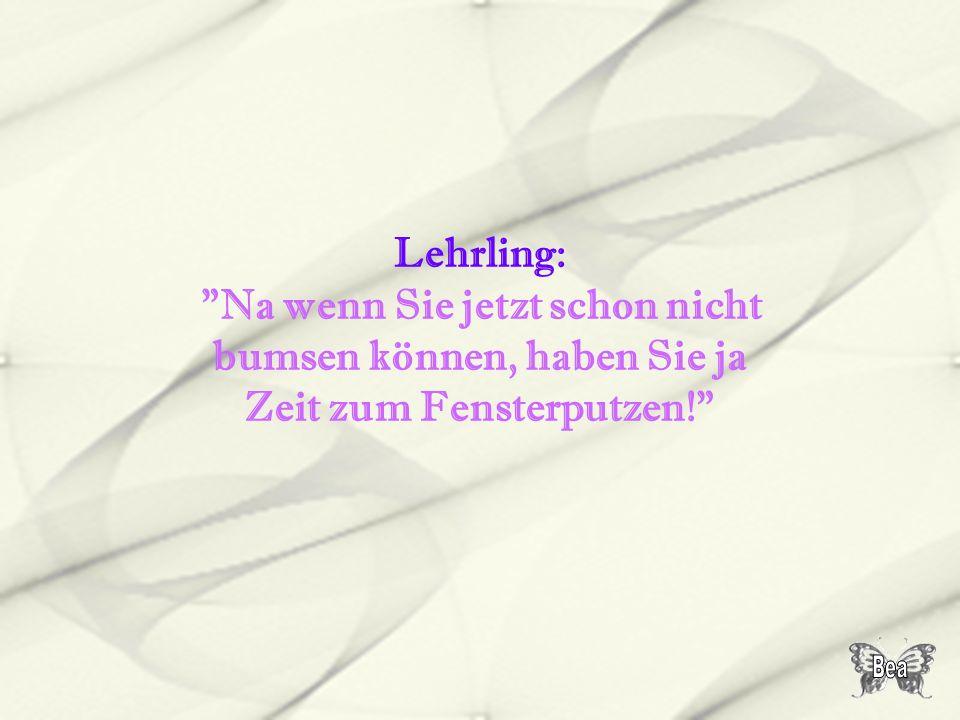Lehrling:
