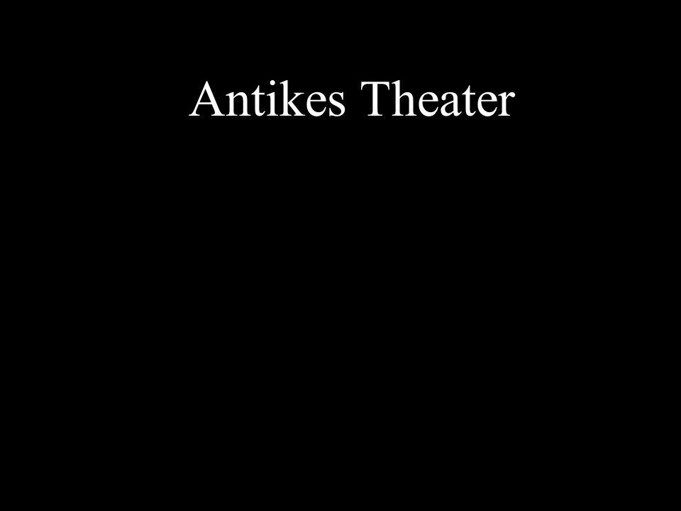 Theater des Dionysos in Athen Ausgangspunkt der antiken (und modernen!) Dramatik
