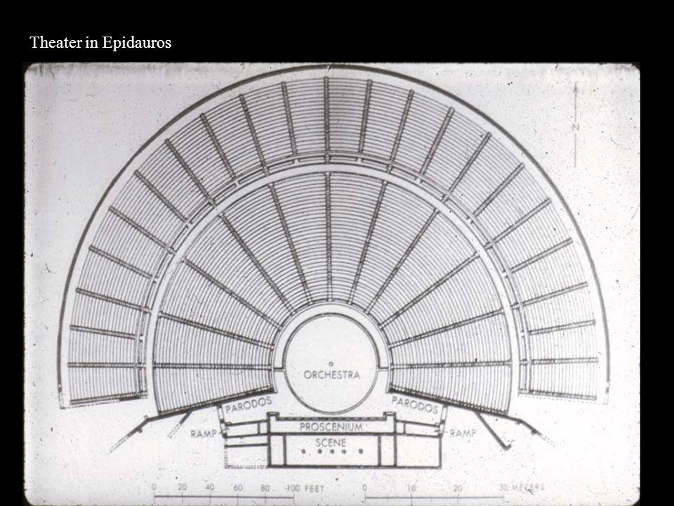 Theater in Epidauros: bedeutendste antike Kultstätte für den Heilgott Asklepios in Griechenland