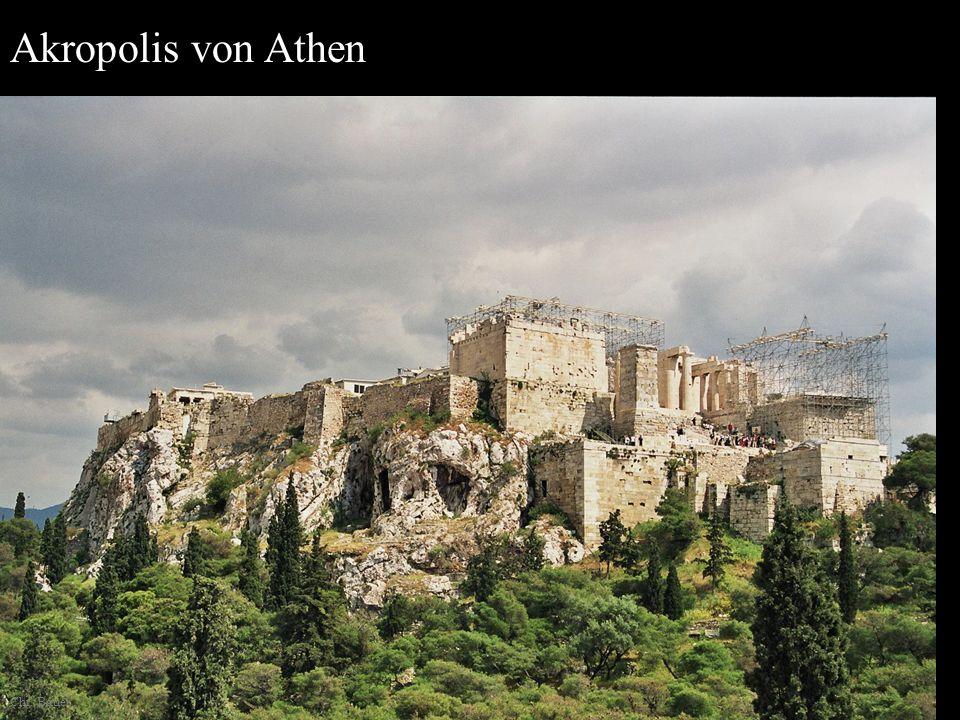 Akropolis von Athen Chr. Bauer