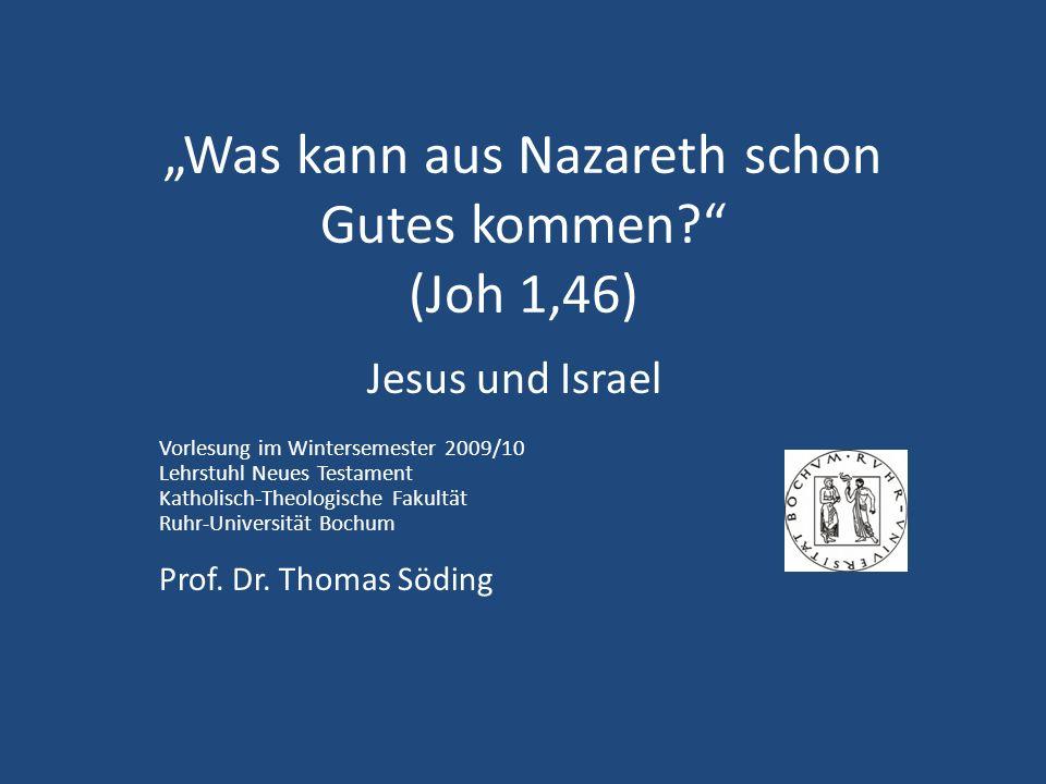 5.4 Jesus und die Hoffnung Israels Lk 13,34f.