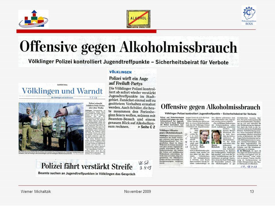 Werner MichaltzikNovember 200913