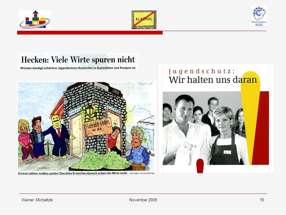 Werner MichaltzikNovember 200915