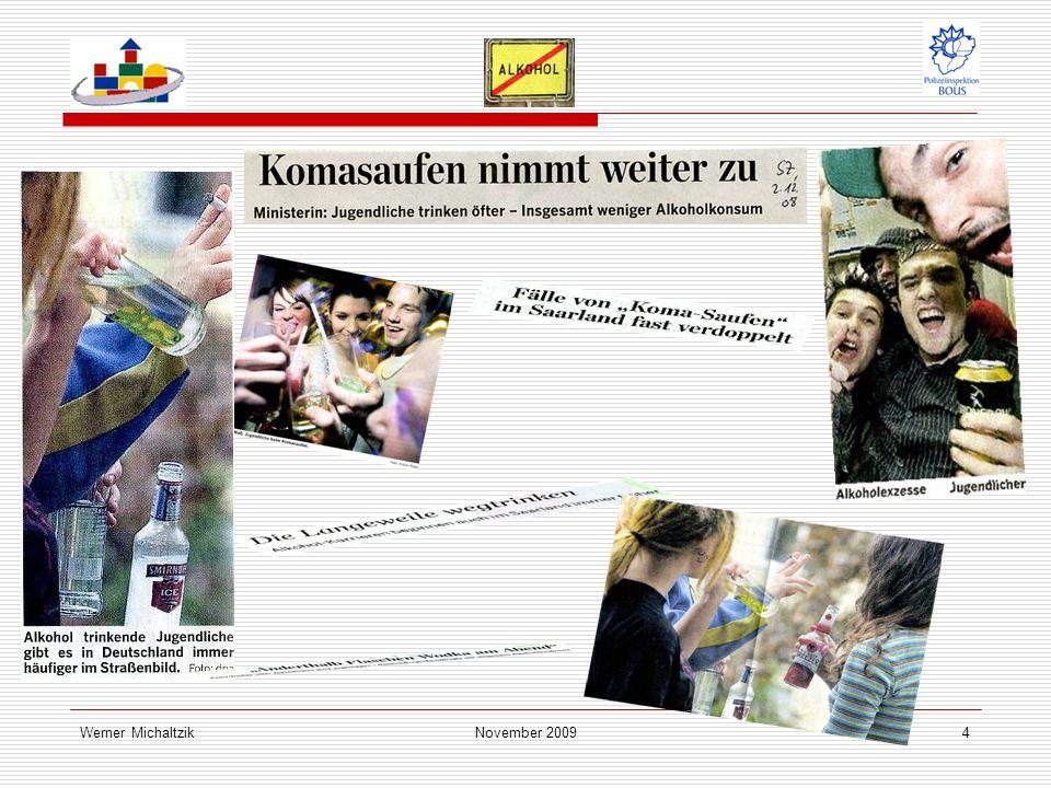 Werner MichaltzikNovember 20095