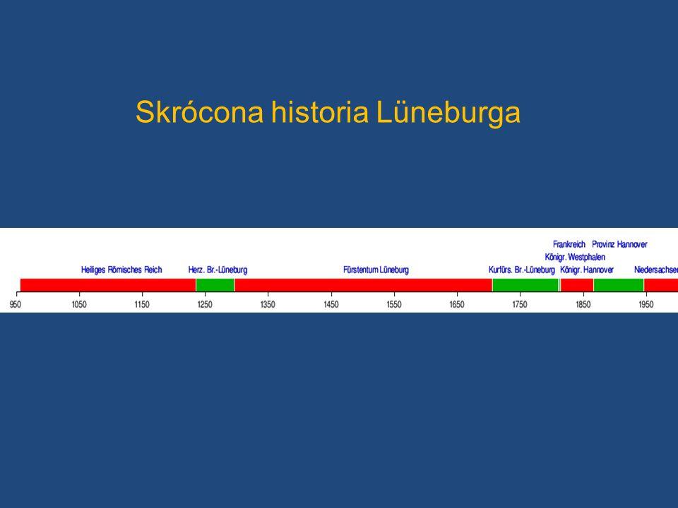 Skrócona historia Lüneburga