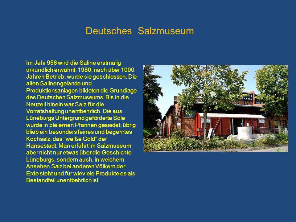 Im Jahr 956 wird die Saline erstmalig urkundlich erwähnt. 1980, nach über 1000 Jahren Betrieb, wurde sie geschlossen. Die alten Salinengelände und Pro
