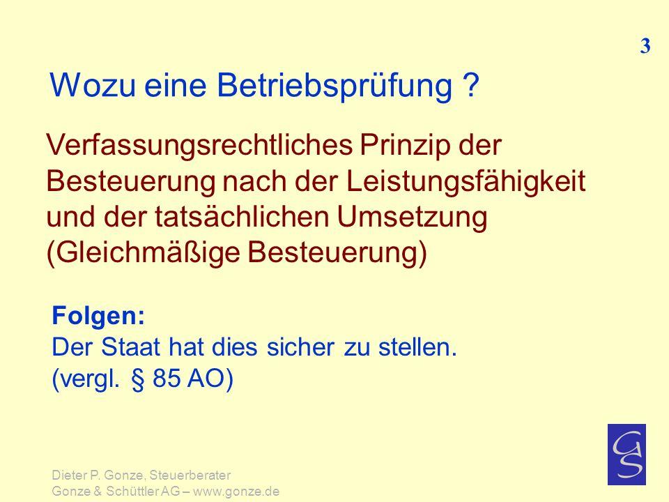 Kurzinfo zum Steuerstrafrecht Typische Lebenssachverhalte 74 Dieter P.