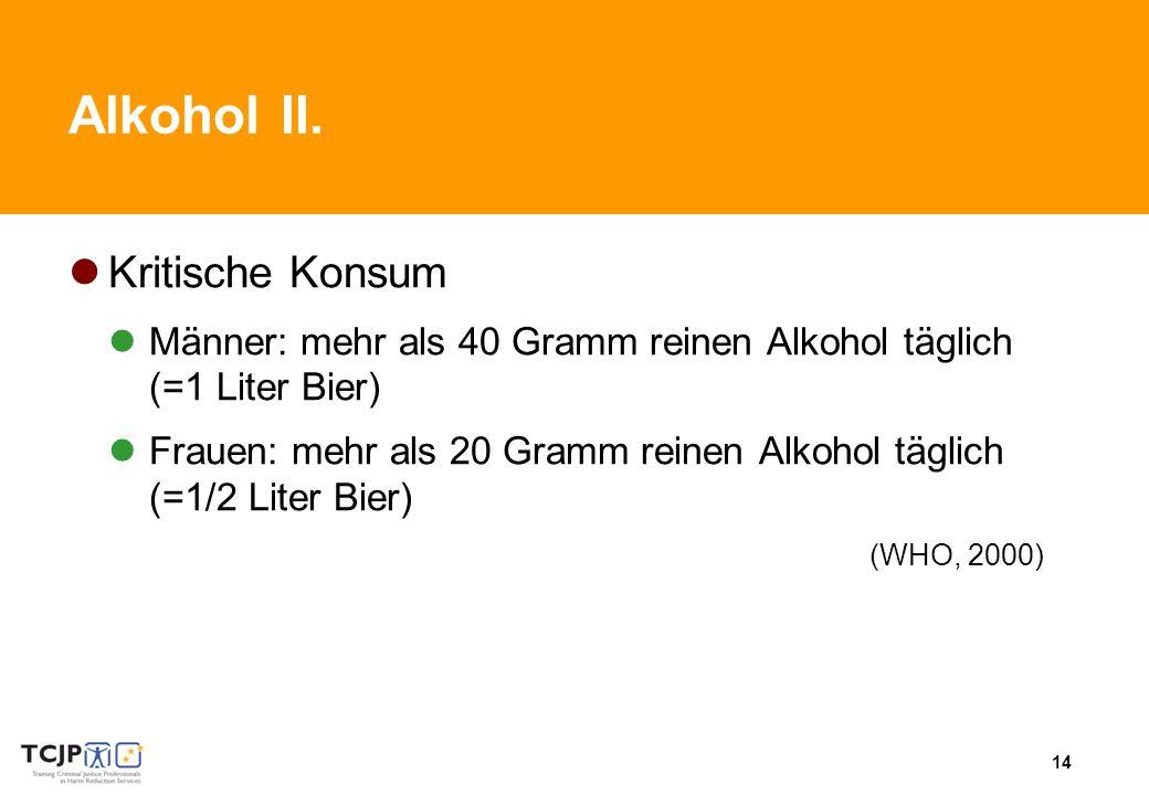 14 AlkoholII.
