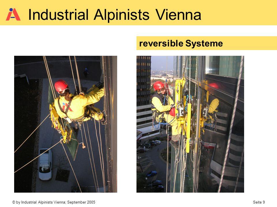 © by Industrial Alpinists Vienna; September 2005 Seite 10 Industrial Alpinists Vienna 4 – fach Flaschenzug
