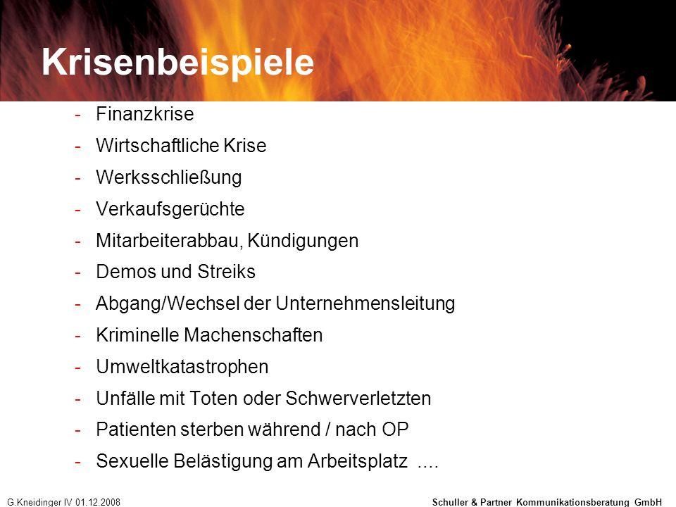 Krisenbeispiele -Finanzkrise -Wirtschaftliche Krise -Werksschließung -Verkaufsgerüchte -Mitarbeiterabbau, Kündigungen -Demos und Streiks -Abgang/Wechs