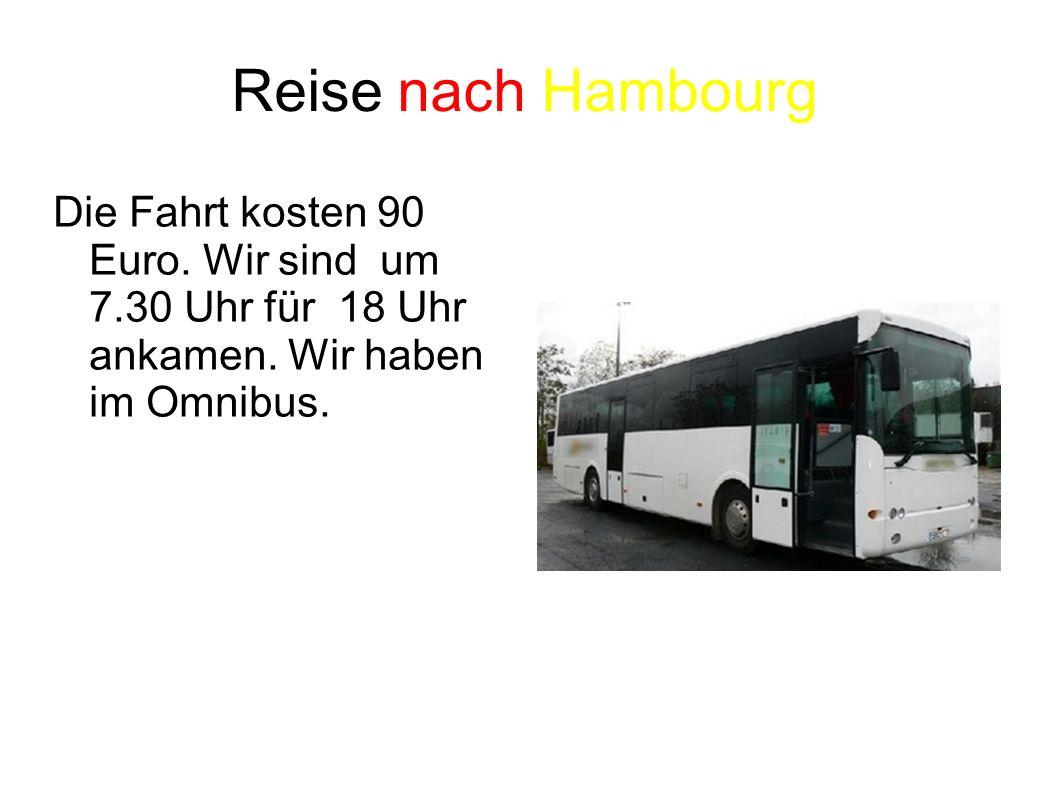 Die Statplan Hamburg 1- Richtung Poststrasse nach Gerhofstraße 2- Nach links auf Große Bleiche
