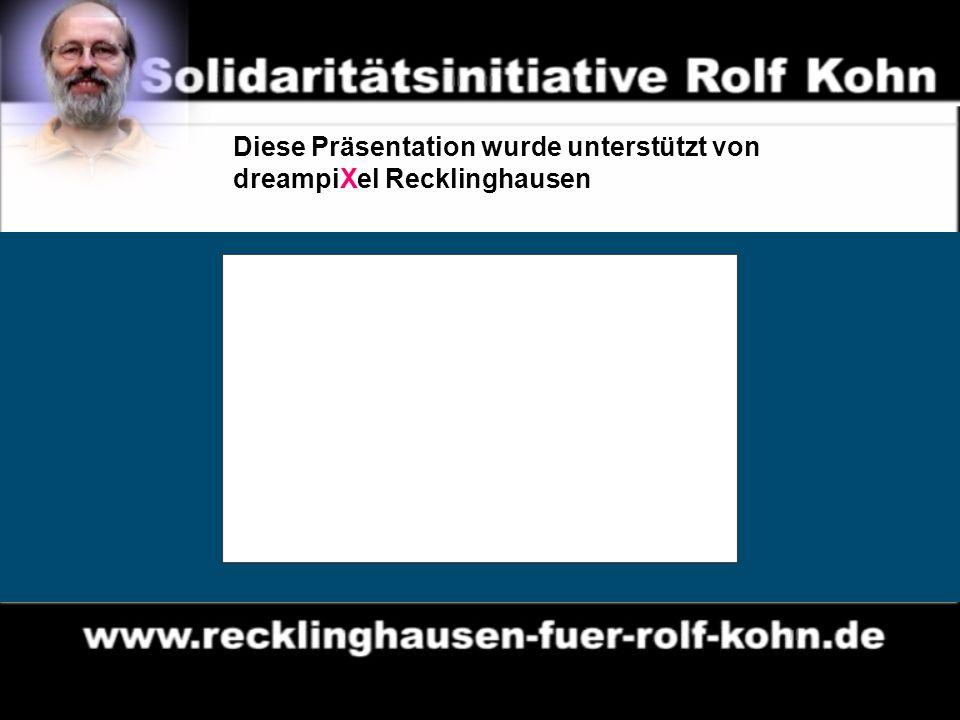 14 Diese Präsentation wurde unterstützt von dreampiXel Recklinghausen
