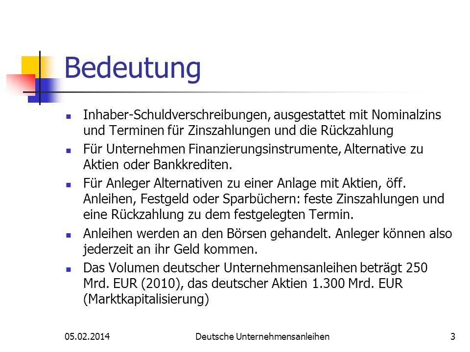 Auswahlkriterien Währung EUR Fremdwährung Stückelung 1.000 EUR 50.000 EUR etc.