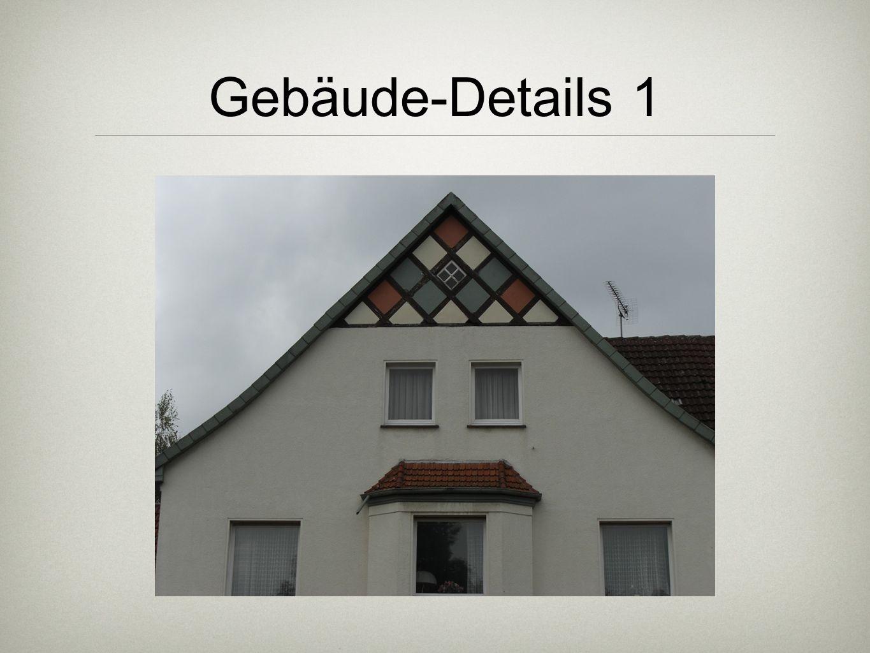 Gebäude-Details 1