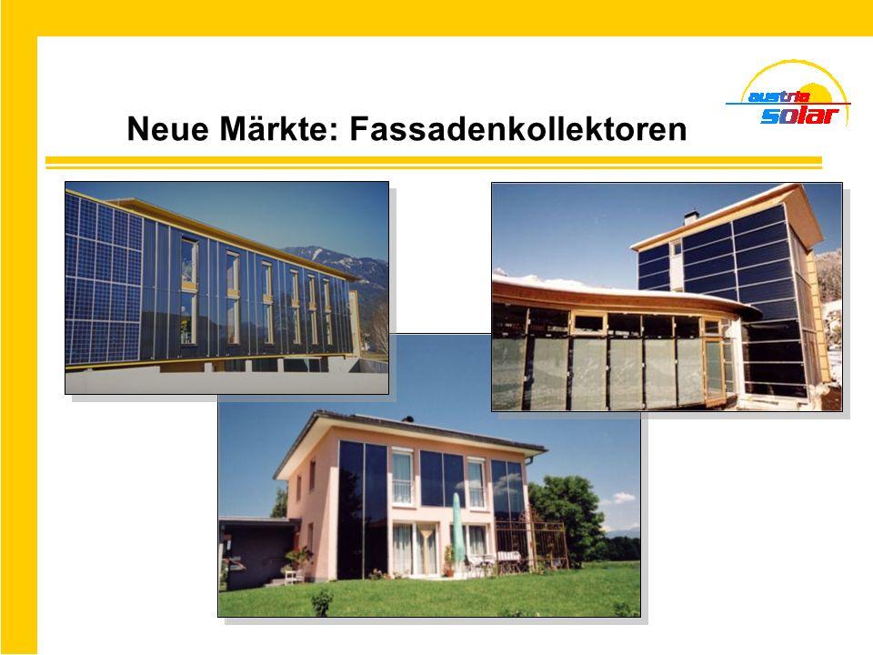 Neue Märkte: Fassadenkollektoren