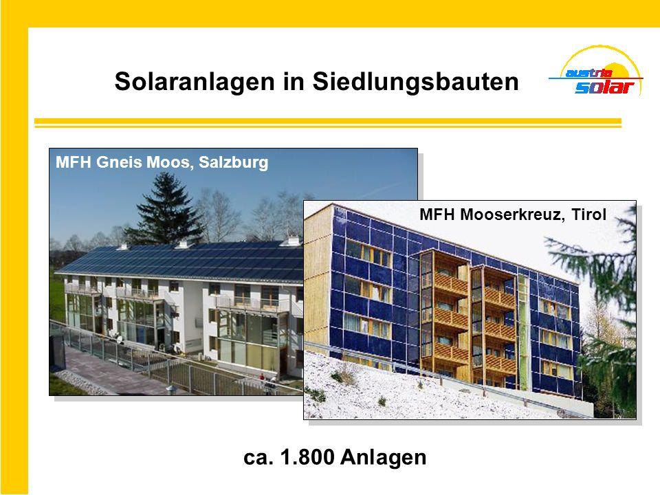 Solaranlagen in Tourismusbetrieben über 2.000 Anlagen Skirestaurant Manser, Tirol Restaurant - Hotel Bielerhöhe, Tirol