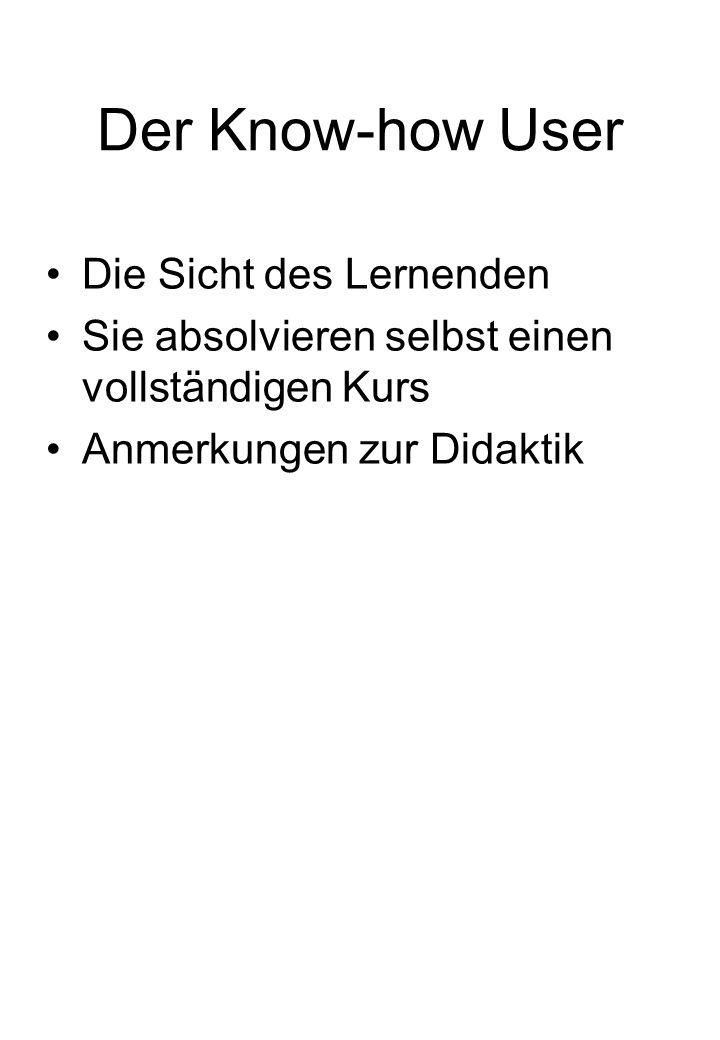 Der Know-how Publisher Wie kommt das Know-how in die easyLEARN skills4u Plattform.