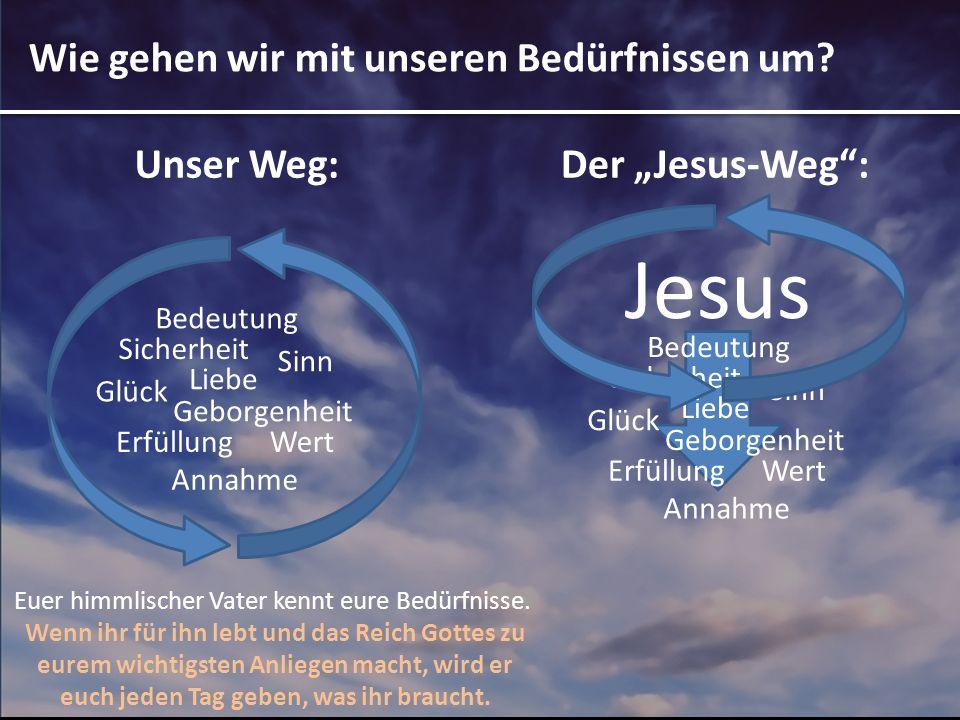 Jesus ruft uns zu einer Entscheidung Jesus Sicherheit Glück Wert Bedeutung Liebe Annahme Geborgenheit Erfüllung Sinn Komm, und folge mir nach.